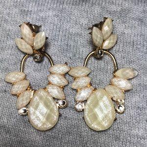Jewelry - Women's stone studded earrings